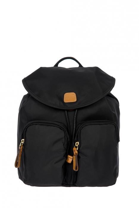 3754 Bric's X-Travel Sırt Çantası 27x27x13 cm Siyah / Black