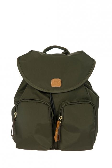 3754 Bric's X-Travel Sırt Çantası 27x27x13 cm Yeşil / Olive