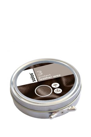 3763 Solos Leather Wax 100 ml Siyah / Black