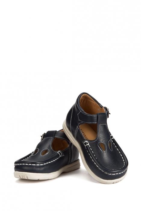 402 Kalite İlk Adım Çocuk Ayakkabısı (Tokalı) 19-24 Lacivert / Navy