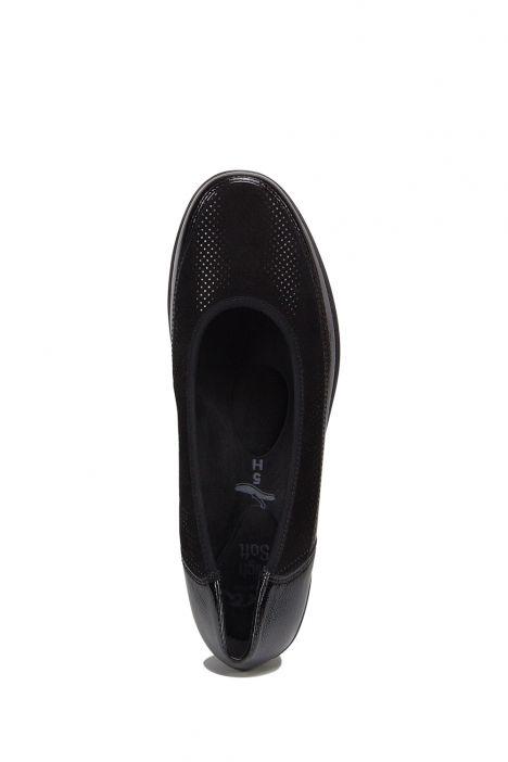 40617 Ara Kadın Dolgu Topuklu Ayakkabı 3.5-8.5 PUNTI, BLACK - 13PB
