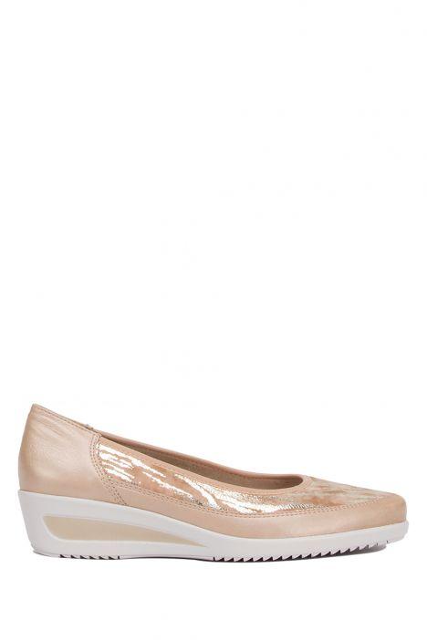 40617 Ara Kadın Dolgu Topuklu Ayakkabı 3.5-8.5 LEHM, CAMEL - 73LC