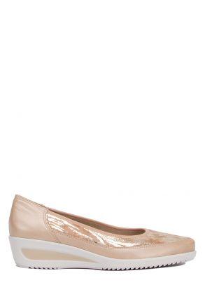 40617 Ara Kadın Dolgu Topuklu Ayakkabı 3.5-8.5