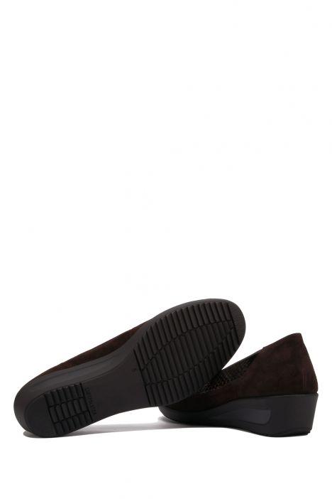 40617 Ara Kadın Dolgu Topuklu Ayakkabı 3.5-8.5 Kahverengi - SAMTCHE,MORO - 17SM