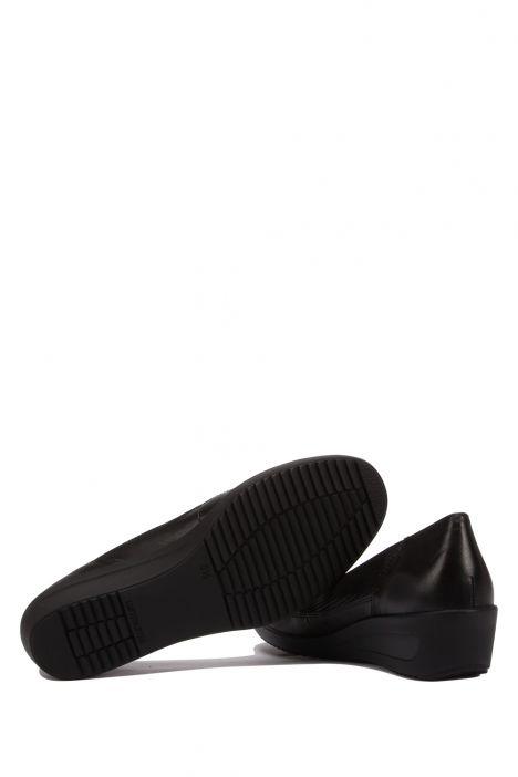 40617 Ara Kadın Dolgu Topuklu Ayakkabı 3.5-8.5 Siyah - NAPPASO,BLACK - 18NB