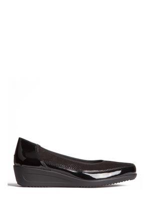 40641 Ara Kadın Dolgu Topuk Ayakkabı 3,5-8,5 LACK, BLACK - 23LB
