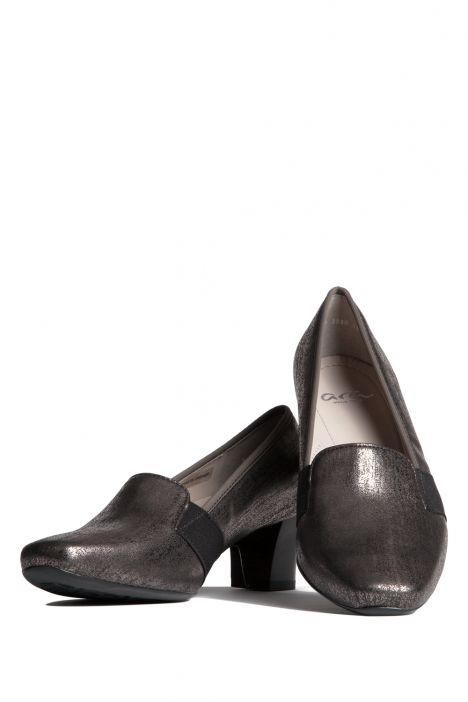 41781 Ara Kadın Topuklu Deri Ayakkabı 3-8 AMB-MET, PIOMBO - 13AP