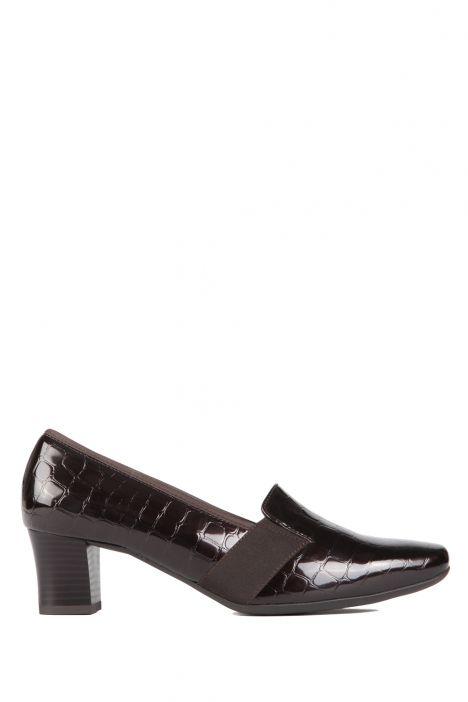 41781 Ara Kadın Topuklu Deri Ayakkabı 3-8 COCCO-LACK, MOCCA - 03CM