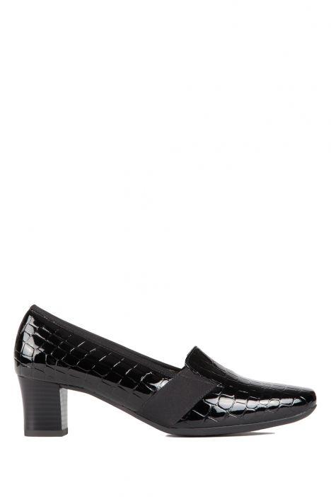 41781 Ara Kadın Topuklu Deri Ayakkabı 3-8 COCO-LACK, BLACK - 01CB