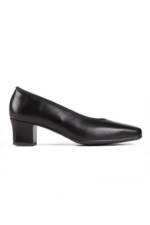 41796 Ara Kadın Topuklu Deri Hostes Ayakkabısı 2,5-8