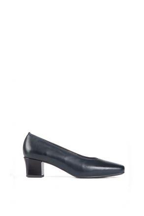 41796 Ara Kadın Topuklu Deri Hostes Ayakkabısı 2,5-8 BLAU - 82B