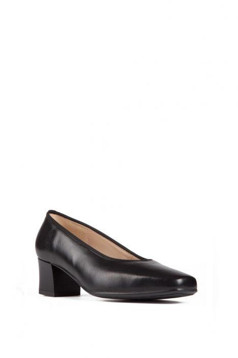 41796 Ara Kadın Topuklu Deri Hostes Ayakkabısı 2,5-8 SCHWARZ - 81S