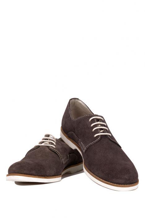 42001 Salamander Erkek Ayakkabı 40-45 Gri / Grey