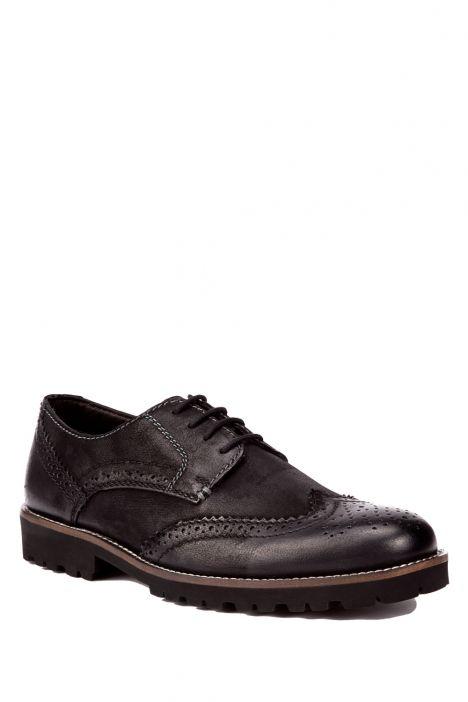 42012 Salamander Erkek Ayakkabı 40-46 Siyah / Black