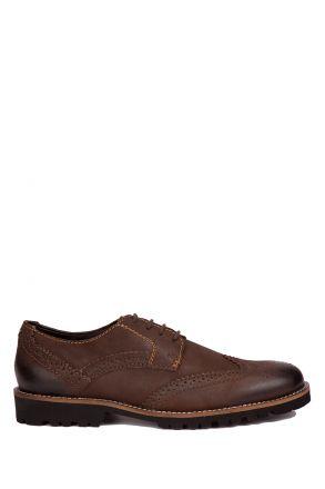 42012 Salamander Erkek Ayakkabı 40-46 Kahverengi / Testamoro