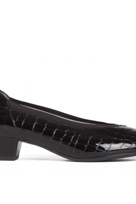 42041 Ara Kadın Topuklu Ayakkabı 3,5-8,5 KROKOLACK, SCHWARZ - 06KS