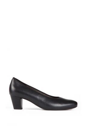 42053 Ara Kadın Topuklu Deri Hostes Ayakkabısı 3-7,5