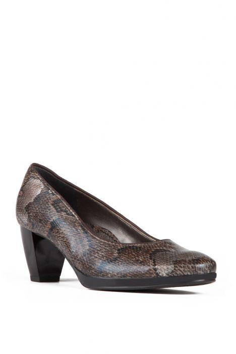 43402 Ara Kadın Topuklu Ayakkabı 3-8 SNAKE,MORO - 36SM
