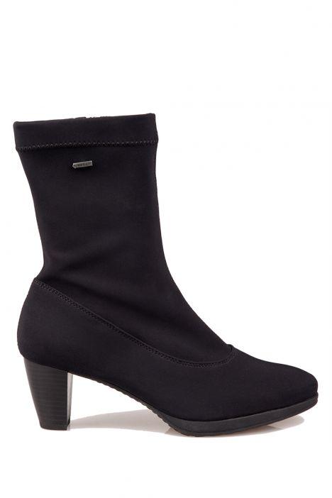 43492 Ara Kadın Gore-Tex Topuklu Çizme 3-7.5 SCHWARZ,STRETCH - 01SS