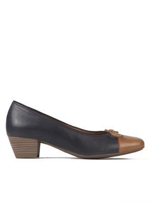 43503 Ara Kadın Topuklu Ayakkabı 3-9 SADDLE,OZEAN - 05SO