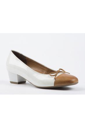 43503 Ara Kadın Topuklu Ayakkabı 3-9 WEISS - 20W