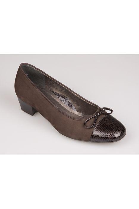 43503 Ara Kadın Topuklu Ayakkabı 3-9 MORO - 10M