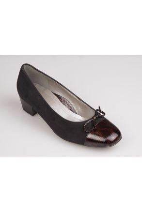 43503 Ara Kadın Topuklu Ayakkabı 3-9 MORO,SCHWARZ - 09MS