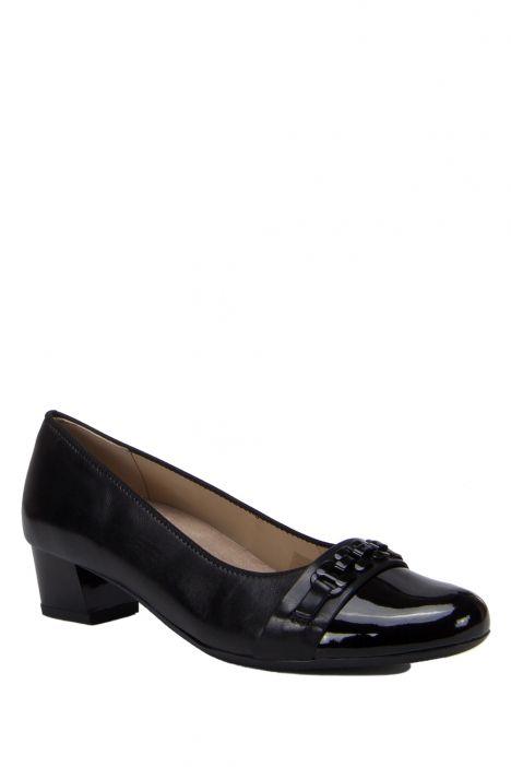 45880 Ara Kadın Topuklu Deri Ayakkabı 3.5-8.5 LACK,LUX SCHWARZ - 06LLS