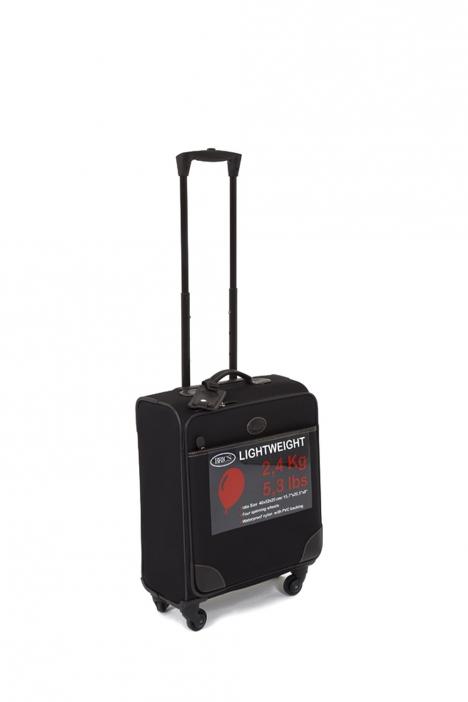 4594 Bric's Voyager Kabin Boy Valiz 40x52x20 cm Siyah / Black