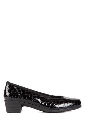 46136 Ara Kadın Topuklu Ayakkabı 3,5-8 SCHWARZ,KROKO - 05SK