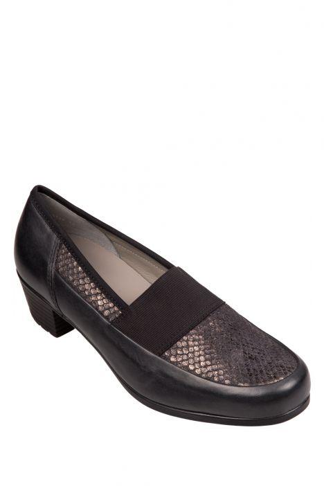 46138 Ara Kadın Topuklu Ayakkabı 3,5-8,5 SCHWARZ,KROKO LACK - 01SK