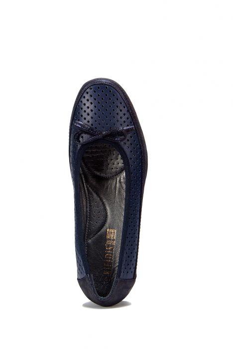 4676 Orkidea Kadın Ayakkabı 36-40 Lacivert - 2841-2858