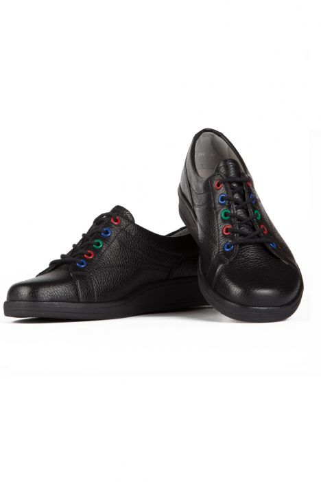 47755 Ara Kadın Deri Ayakkabı 3,5-8,5 SCHWARZ,MULTI - 18SM