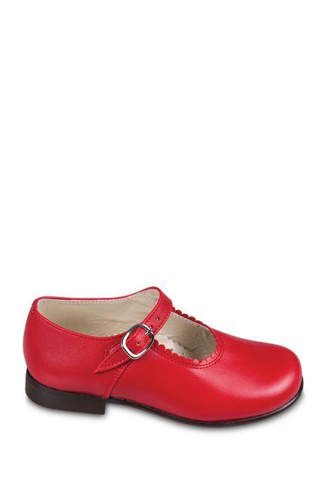 485 Chiquitin Okul Ayakkabısı  22-26 Kırmızı / Rojo