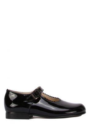 485 Chiquitin Okul Ayakkabısı  22-26 Siyah / Negro