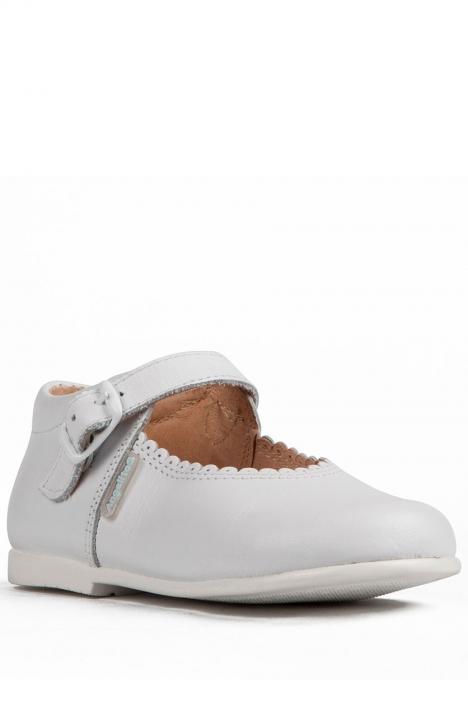 500 Kifidis Angel Hakiki Deri Çocuk Ayakkabı 23-30 Beyaz / Bianco