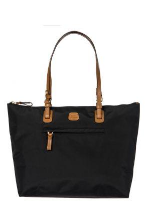 5070 Bric's X-Bag Omuz Çantası 35x34x15 cm Siyah / Black