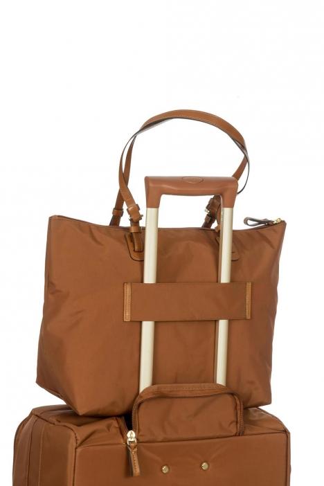 5070 Bric's X-Bag Omuz Çantası 35x34x15 cm Bakır / Rust