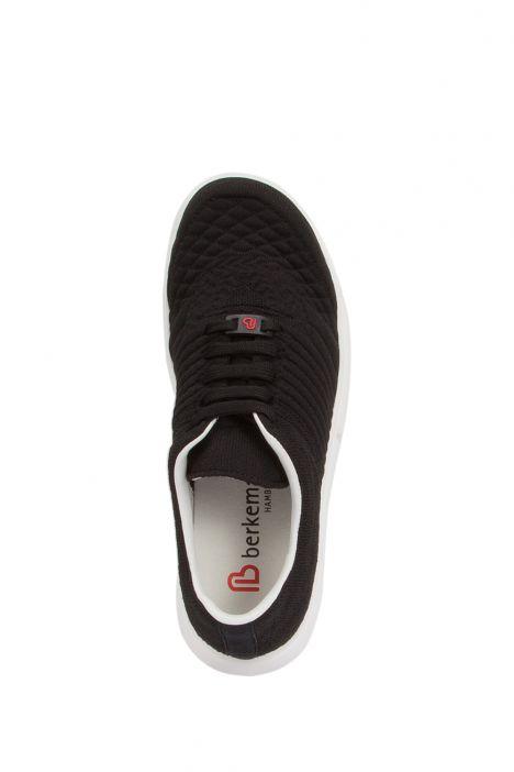 5115 Berkemann Kadın Anatomik Spor Ayakkabı 4.0-6.0 ComfortKnit-Schwarz/Strukt - 081