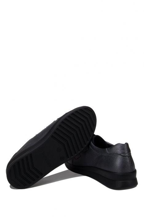5159 Berkemann Kadın Anatomik Deri Ayakkabı 3.0-8.5 Gunsilber Glanzleder - B-659