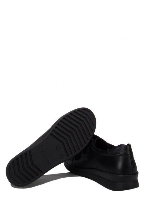 5159 Berkemann Kadın Anatomik Deri Ayakkabı 3.0-8.5 Tiefschwarz Leder/Nappa - B-995TLN