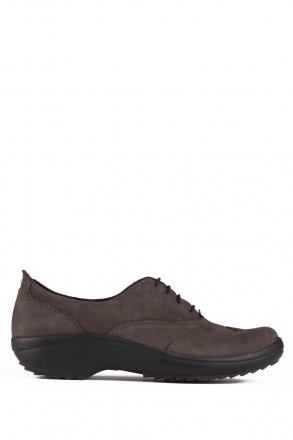 5210 Berkemann Kadın Ayakkabı (3-8,5) Anthrazit Nubuk - B-986