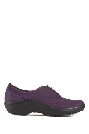 5210 Berkemann Kadın Ayakkabı (3-8,5) Dunkel Lila-Nubuk - B-223