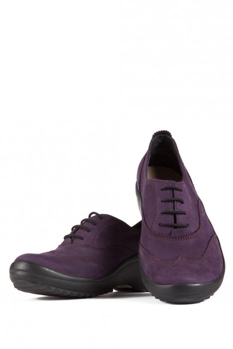 5210 Berkemann Kadın Anatomik Ayakkabı (3-8,5) Dunkel Lila-Nubuk - B-223