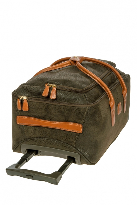 5220 Bric's Life Kabin Boy Valiz 55x25x32 cm Yeşil / Olive