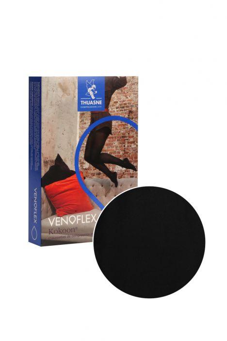 5230-12 Venoflex Kokoon Dizaltı Çorap 20-36 mmHg (Normal) Siyah / Black