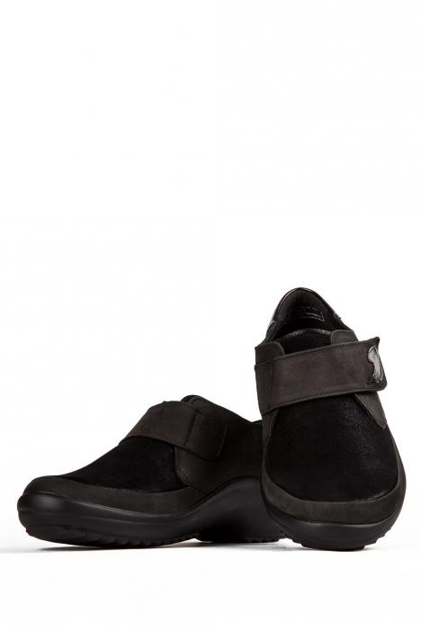 5234 Berkemann Kadın Anatomik Ayakkabı 3-8,5 Schwarz Leder/Stretchnubuk/Lack - B-969
