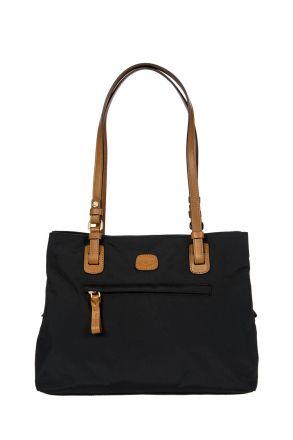 5282 Bric's X-Bag Omuz Çantası 32x25x15 cm Siyah / Black