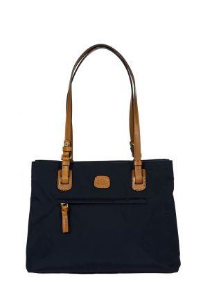 5282 Bric's X-Bag Omuz Çantası 32x25x15 cm Lacivert / Ocean Blue
