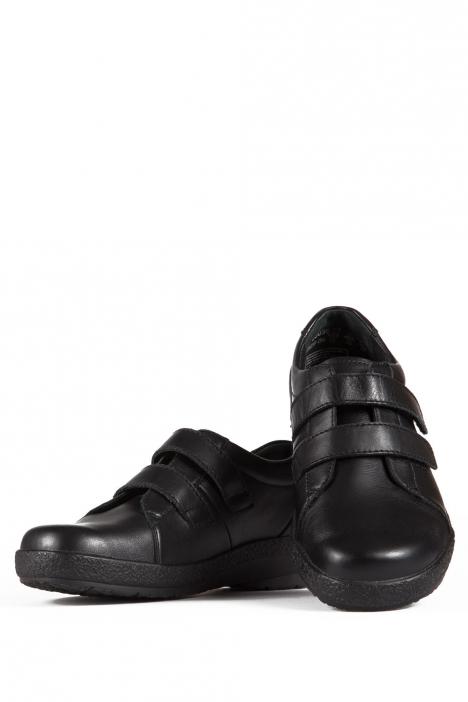 5303 Berkemann Kadın Anatomik Ayakkabı (3-8,5) Schwarz Kalbsleder - 901